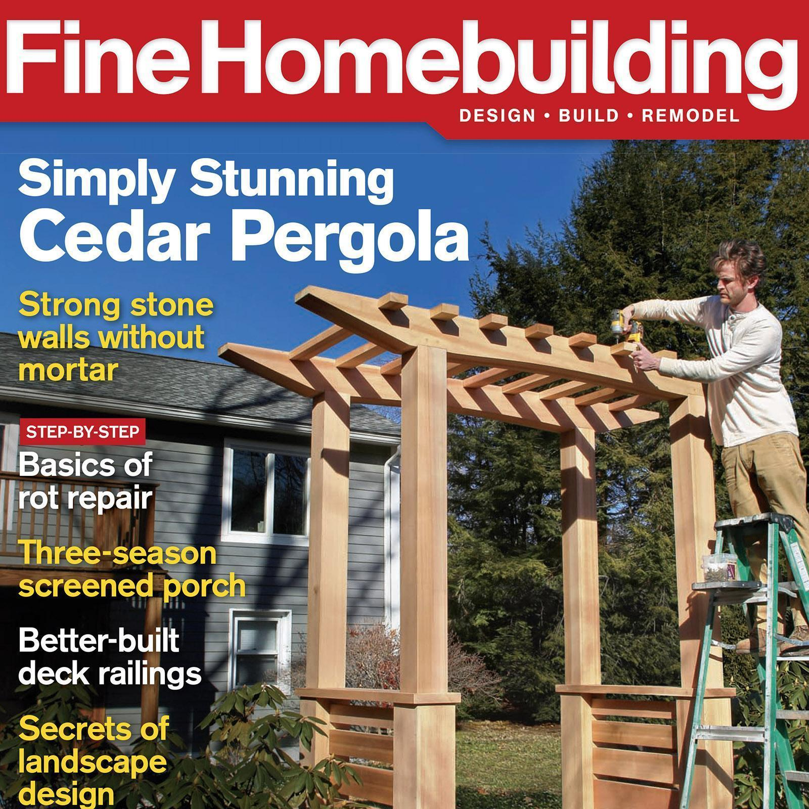 Fine Homebuilding Magazine Subscription For