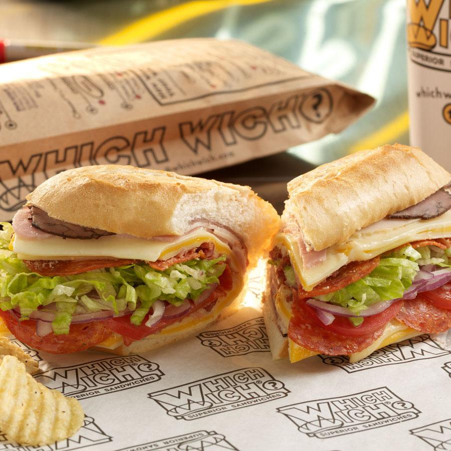 Which Wich Superior Sandwiches Off