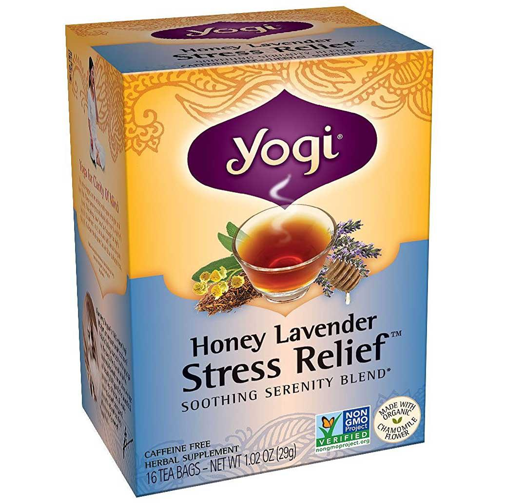 16 Yogi Honey Lavender Stress Relief Tea Bags