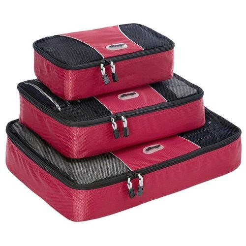 3-Piece eBags Small Luggage Packing Cubes Set