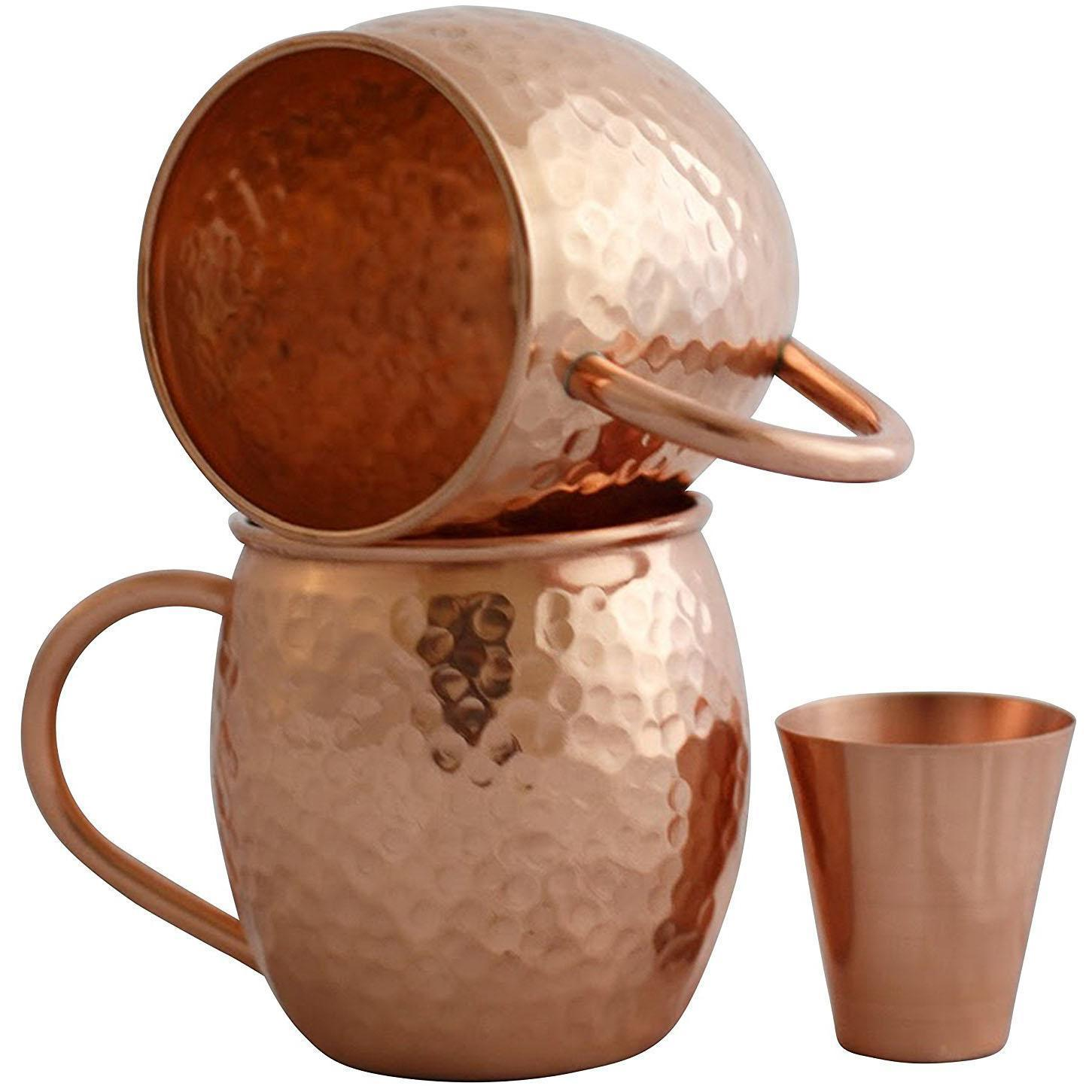 2 Willow Everett Moscow Mule Copper Mugs