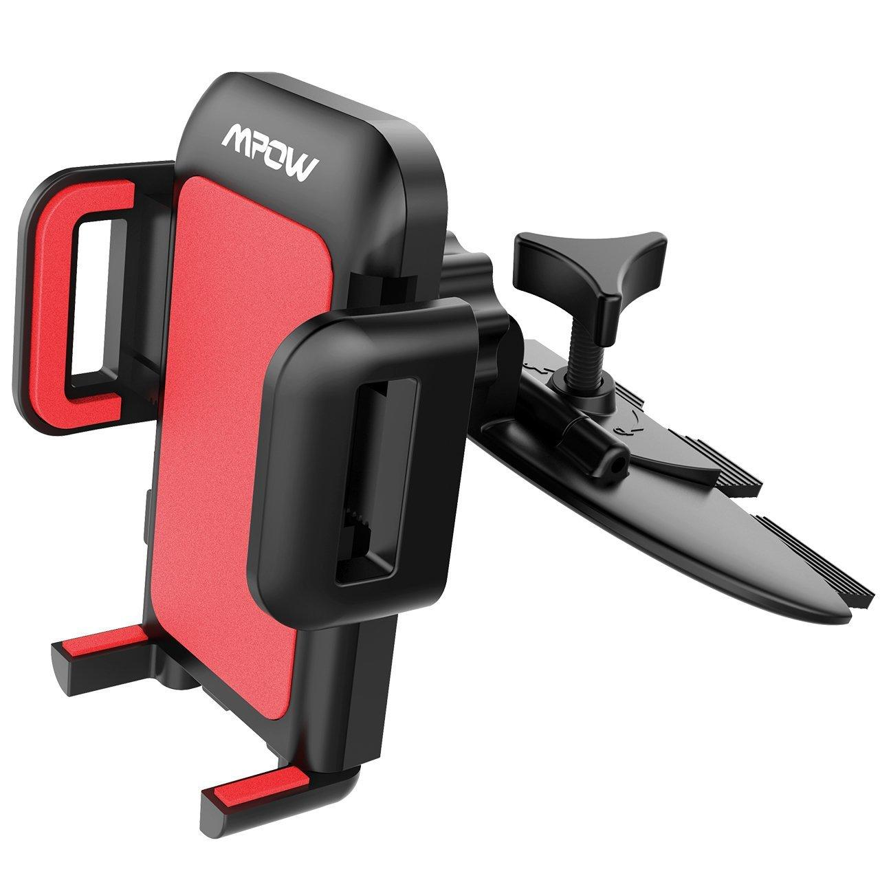 Mpow CD Slot Car Mount Smartphone Holder
