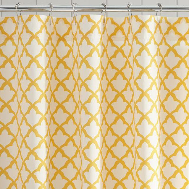 Marlo Organic Cotton Shower Curtain