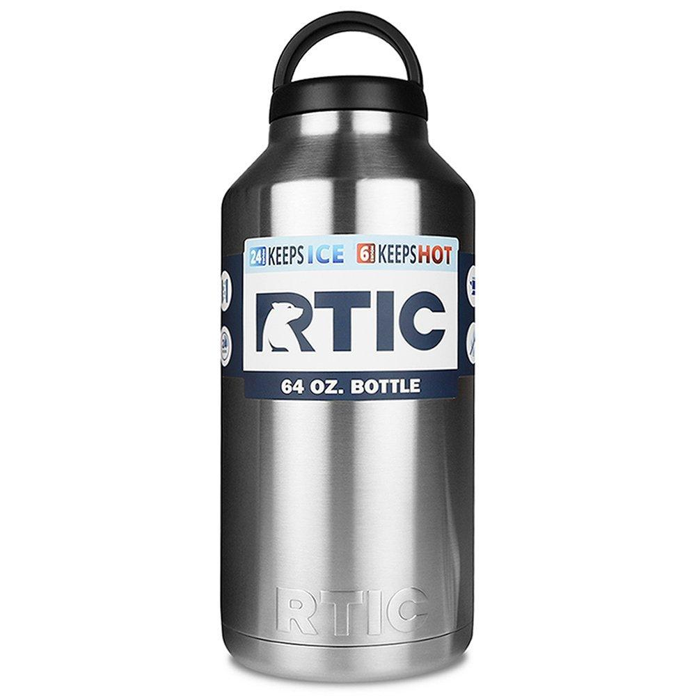 64oz RTIC Stainless Steel Bottle