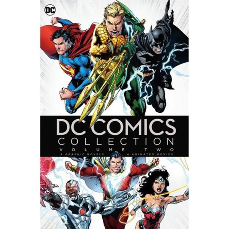 DC Comics Collection Vol 2 Blu-ray with 4 Novels