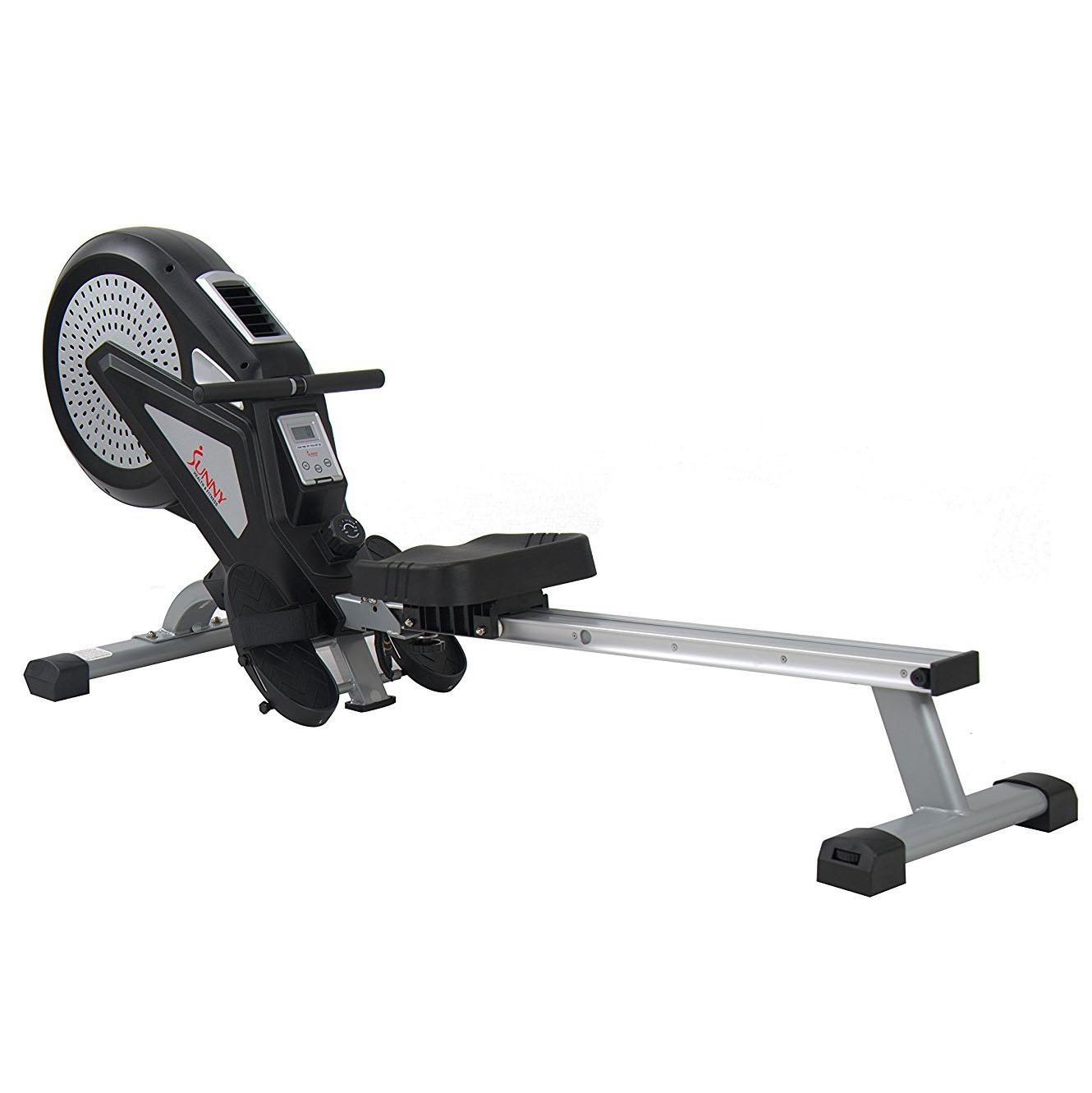 Sunny Health & Fitness Air Magnetic Rowing Machine