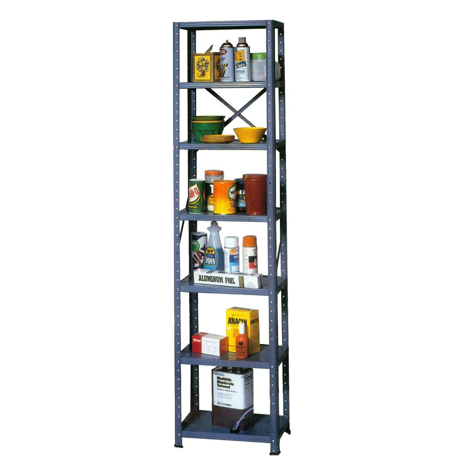 Edsal Steel Shelving Storage Rack