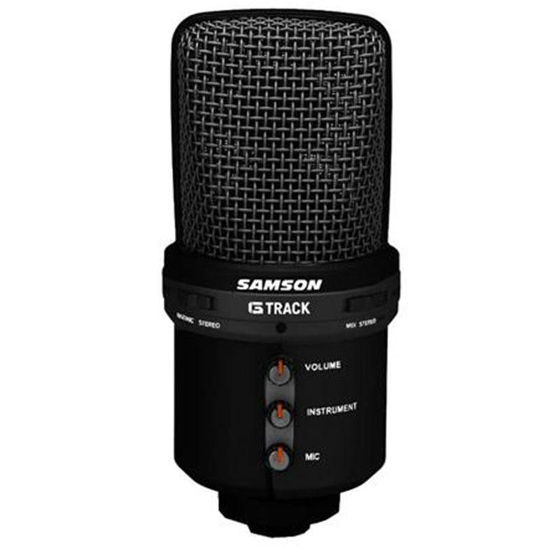 Samson G-Track USB Recording Supercardioid Microphone