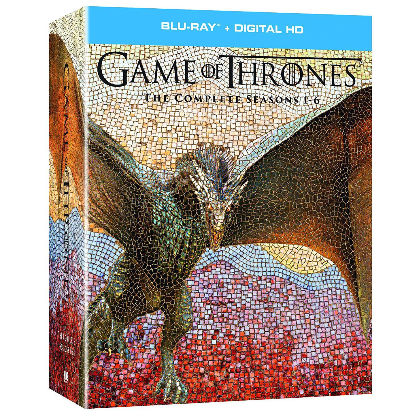 Game Thrones Complete Seasons 1-6 Blu-ray