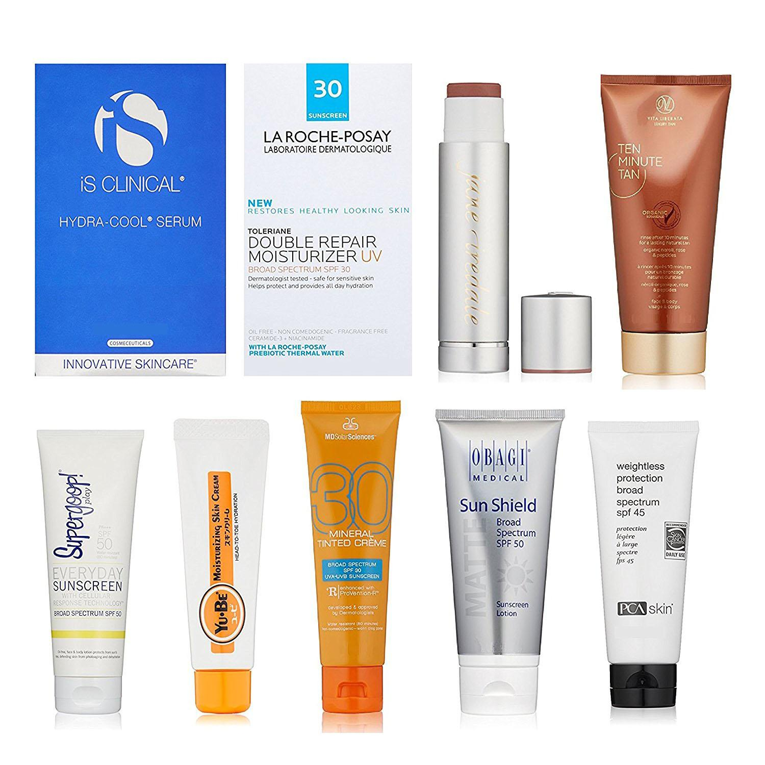 Luxury Sun Care Sample Box with Credit