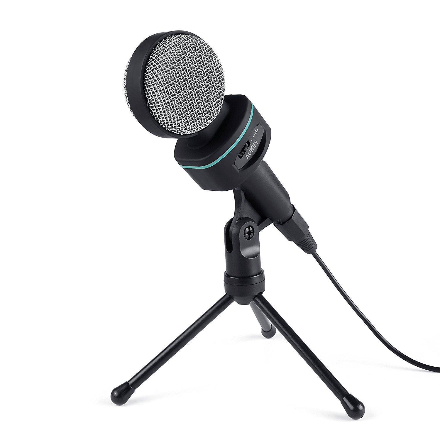 Aukey Condenser Microphone with Stand