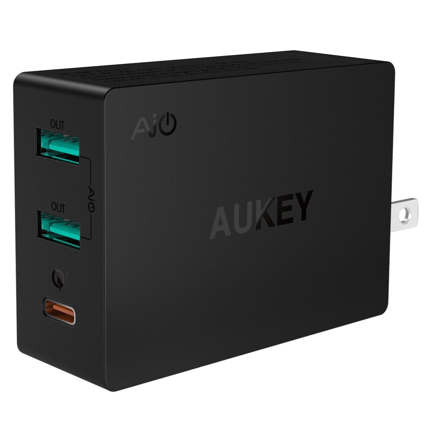 Aukey Quick Charge 3.0 USB Wall Charger