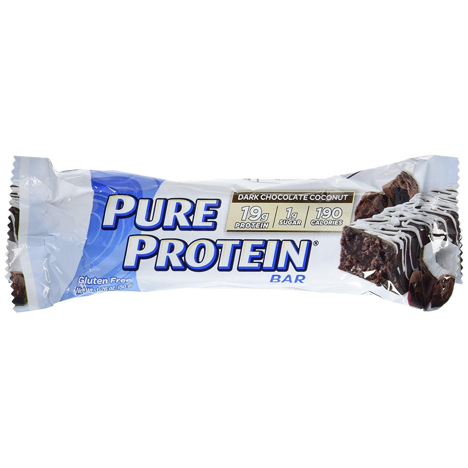 6 Pure Protein Crunch Bars