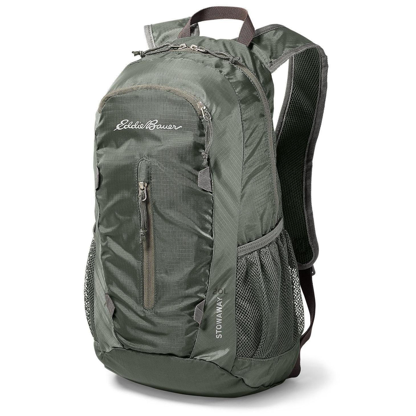 Eddie Bauer Stowaway 20L Packable Pack for $15 Shipped