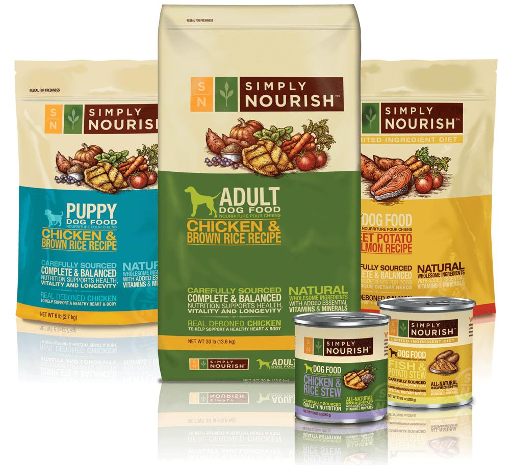 PetSmart Simply Nourish Wellness Pet Food Off