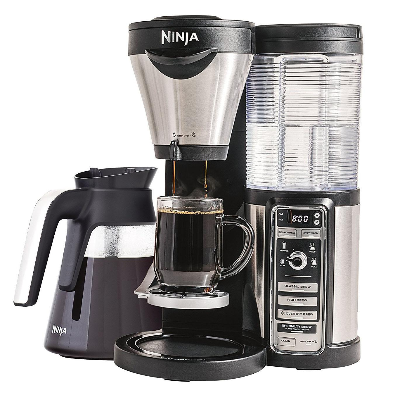 Ninja Coffee Bar Brewer with Glass Carafe for $109.99 Shipped