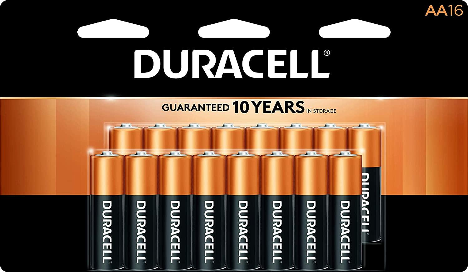 16 Duracell AA or AAA Alkaline Batteries with $14.98 Rewards for $14.99 Shipped