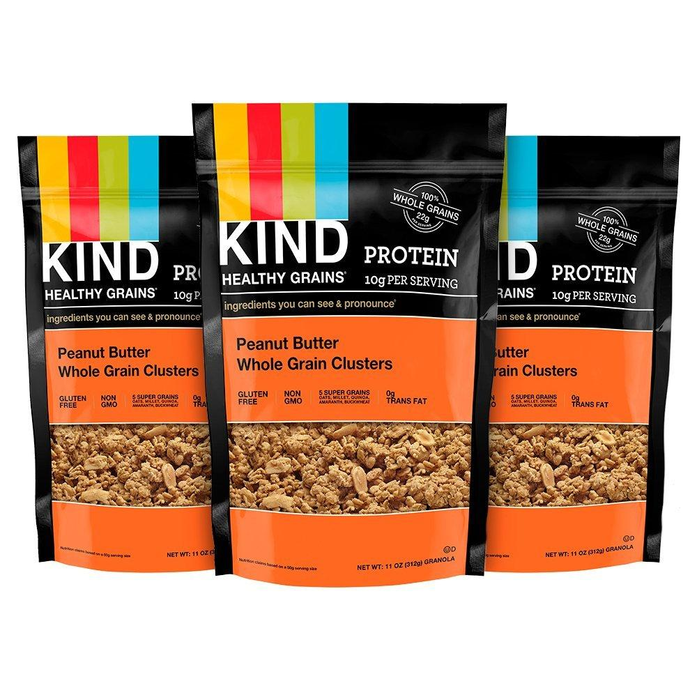 3 Kind Healthy Grains Granola Clusters Bags for $8.98 Shipped