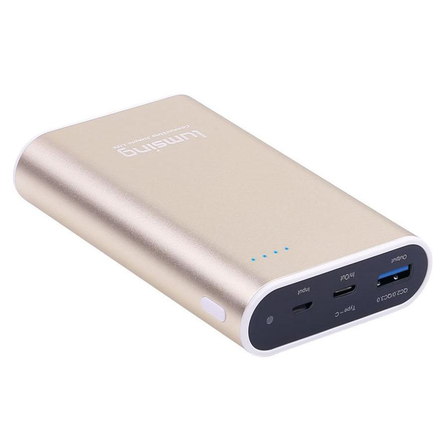 Lumsing 10050mAh Quick Charge 3.0 USB-C Power Bank for $11.99