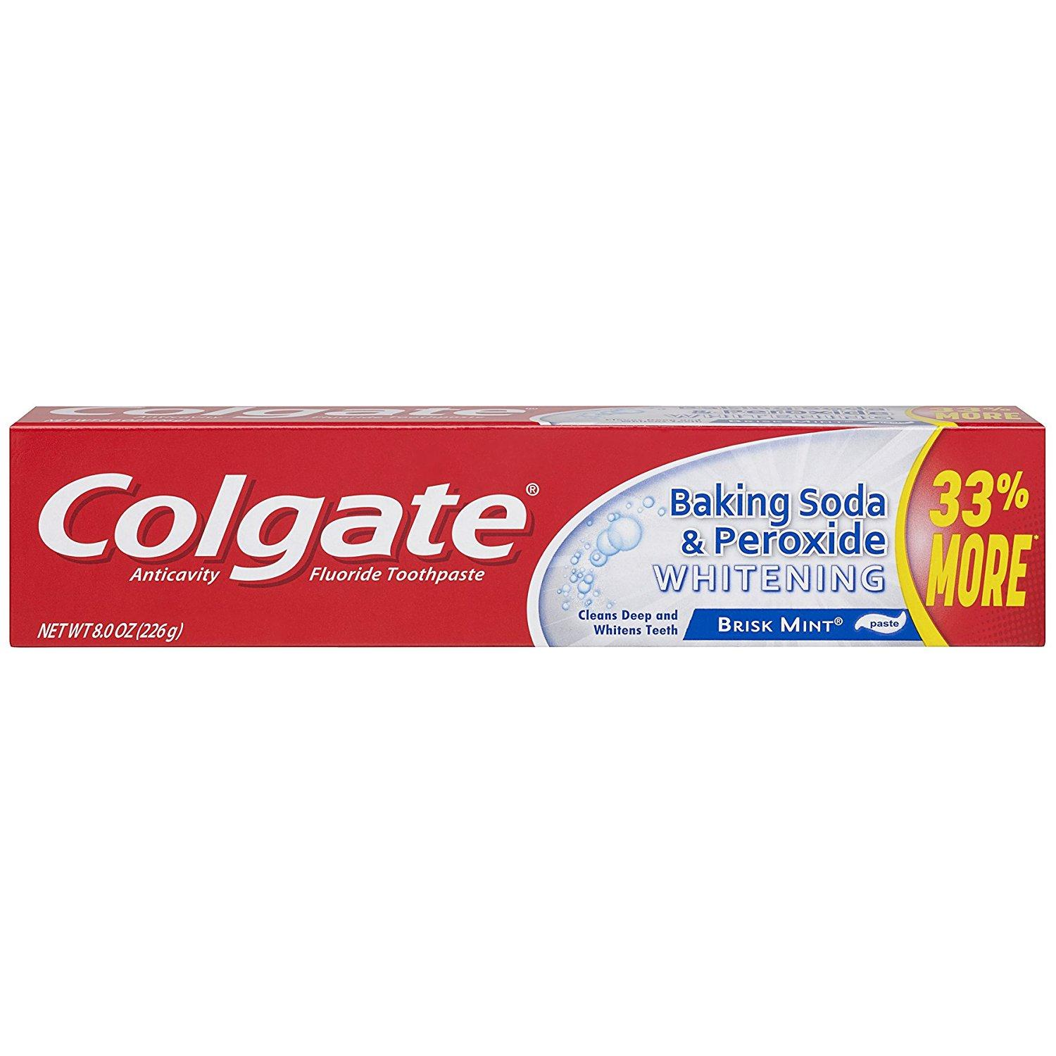 6 Colgate Baking Soda and Peroxide Whitening Toothpaste for $9.42 Shipped