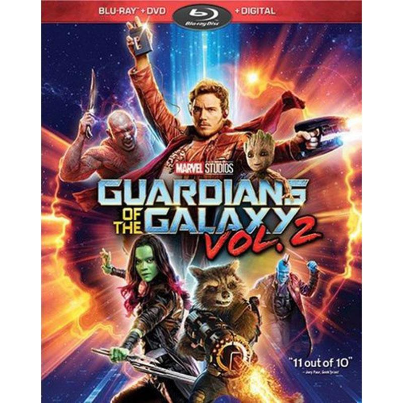 Guardians Galaxy Vol 2 Blu-ray