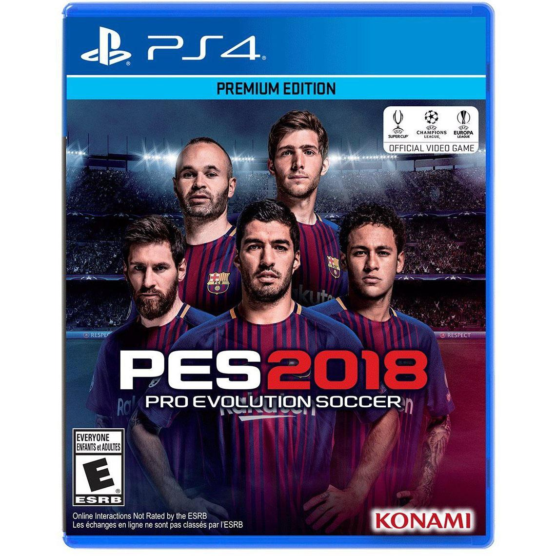 Pro Evolution Soccer 2018 PS4 Xbox