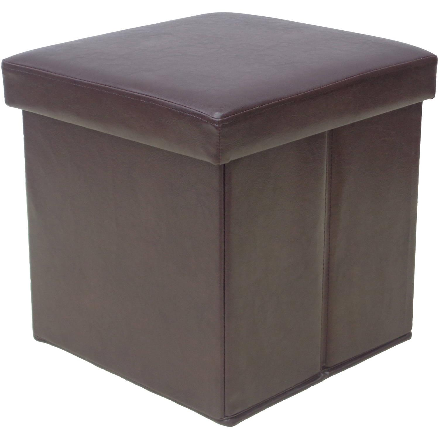 Mainstays Collapsible Storage Ottoman