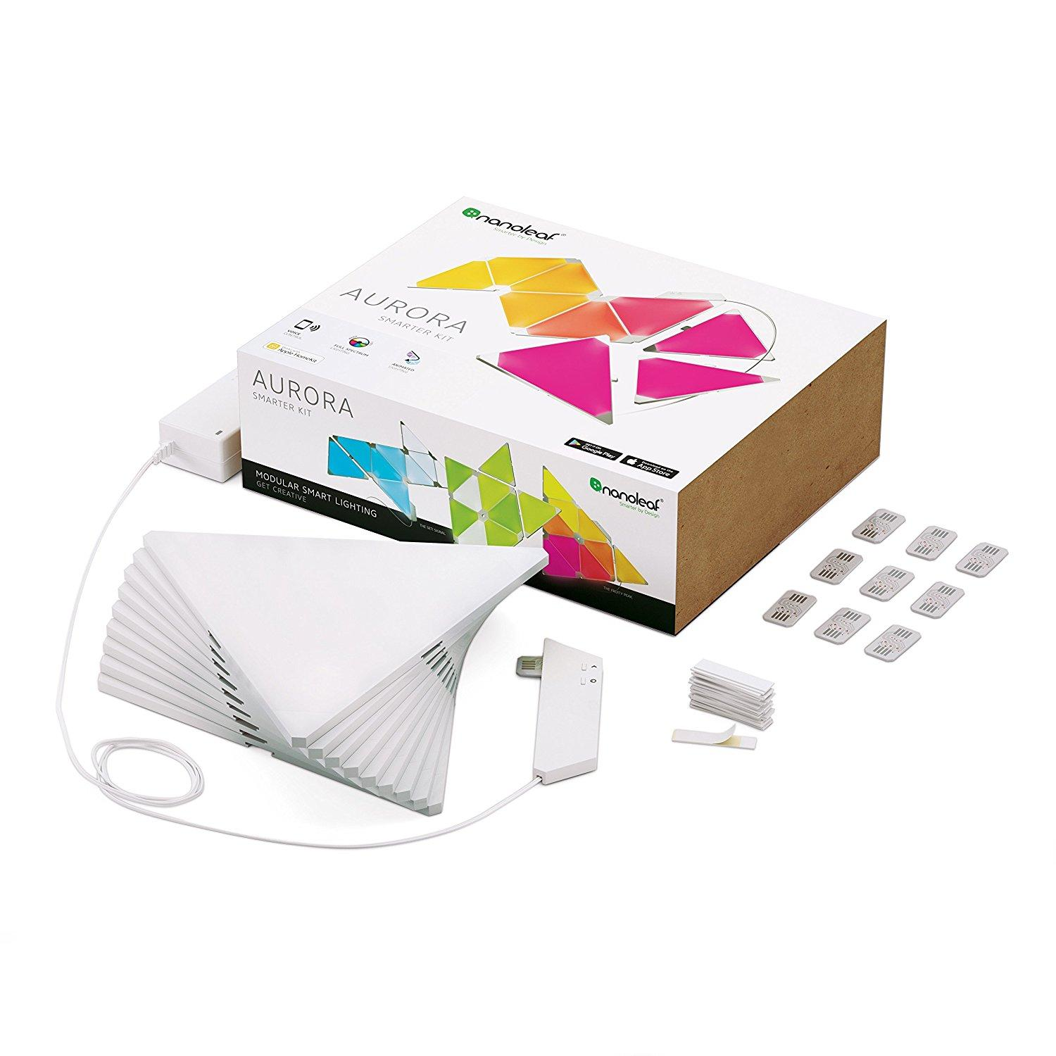 Nanoleaf Aurora Modular Smart Lighting Kit