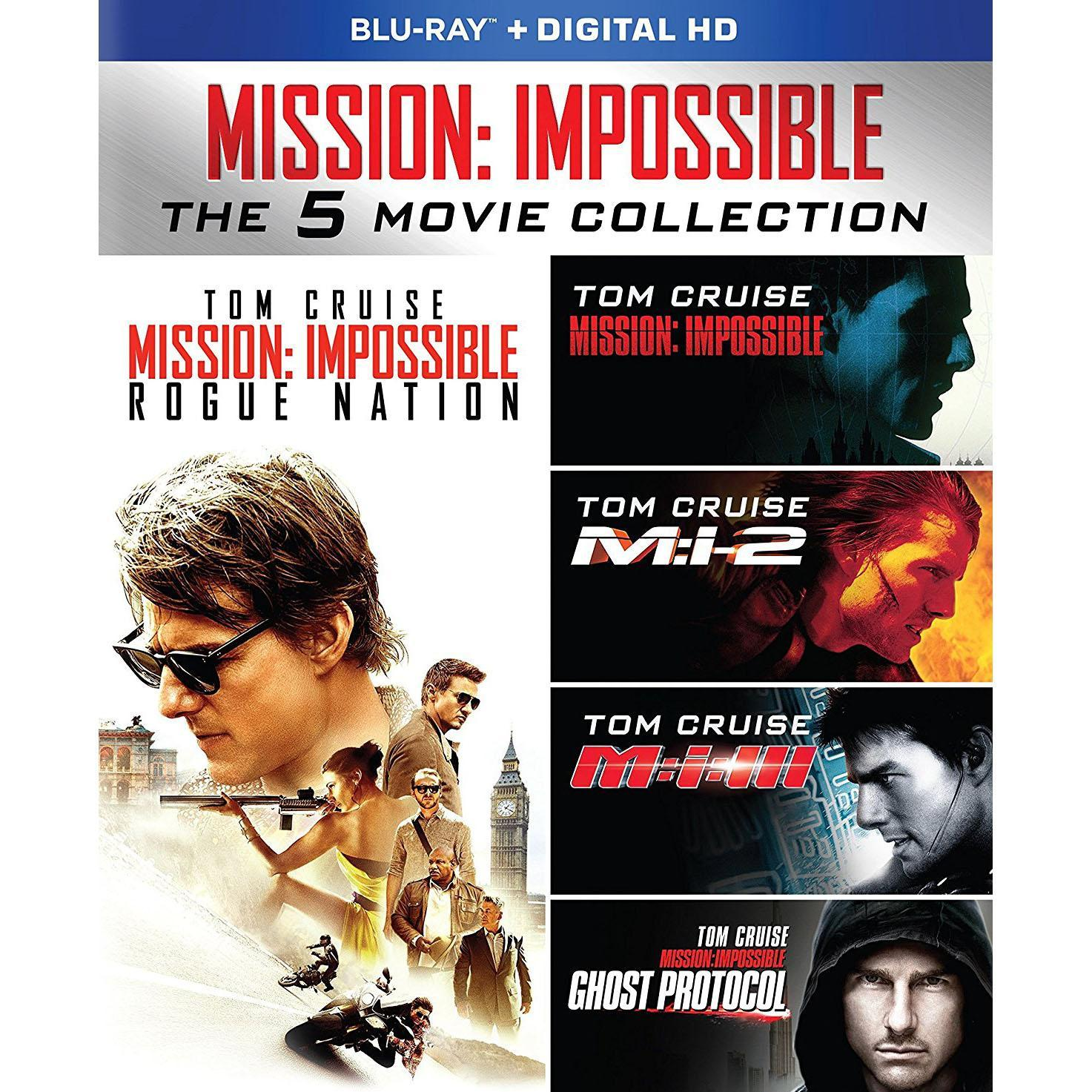 Mission Impossible 5 Movie Collection Blu-ray Set