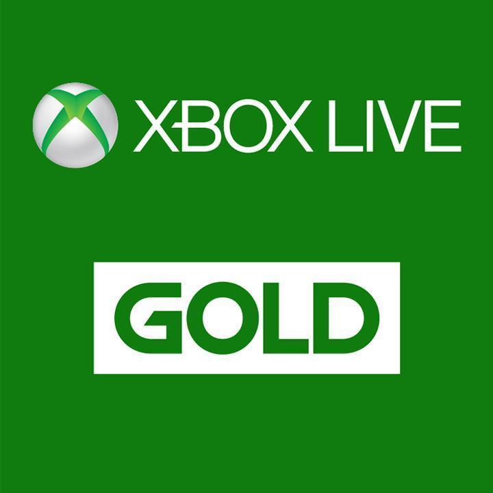 6-Months Xbox Live Gold Membership