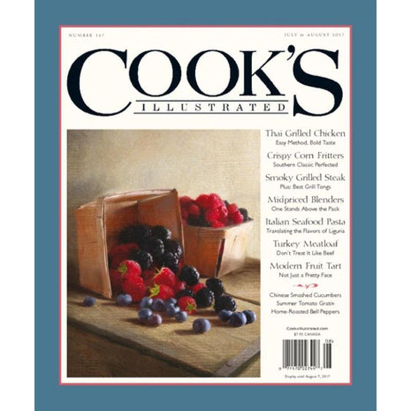 Cooks Illustrated Magazine Subscription for $6.99