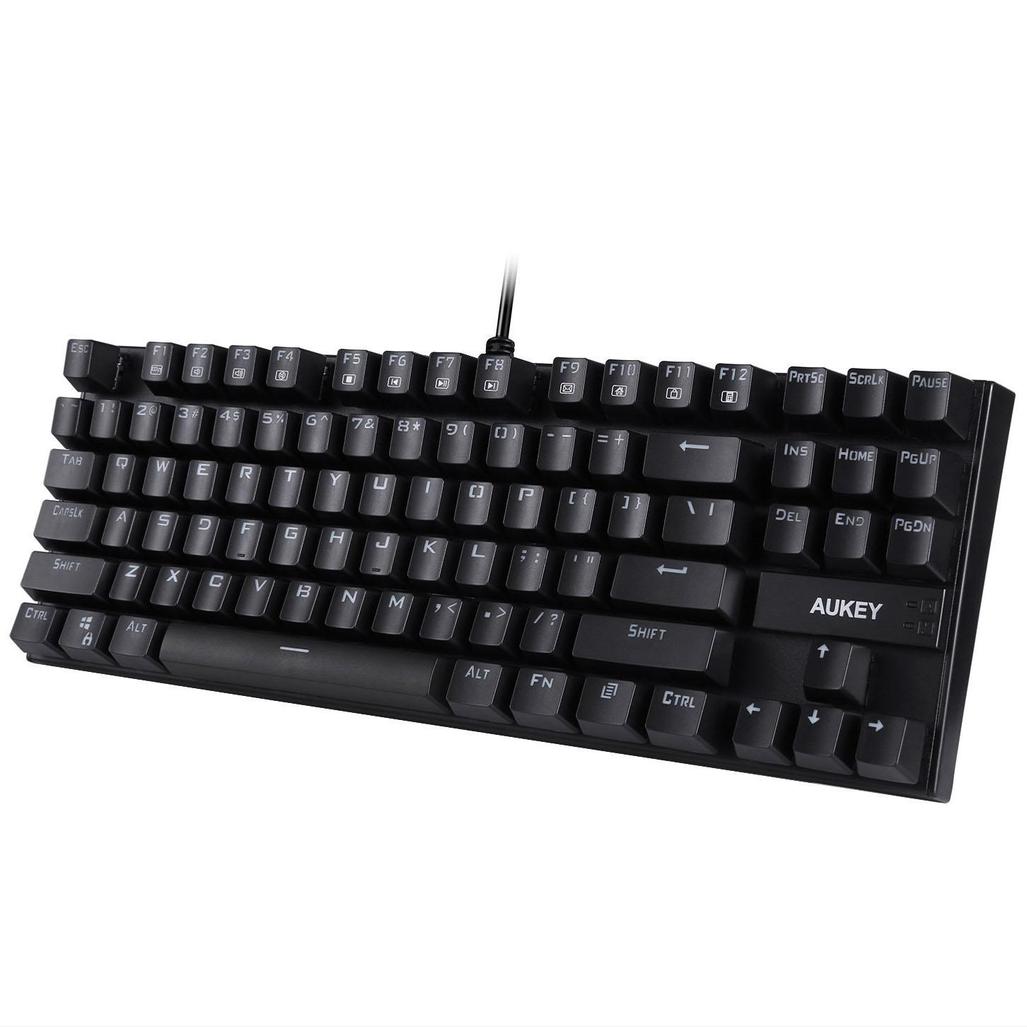 Aukey Mechanical Keyboard with Blue Switches for $20.09 Shipped