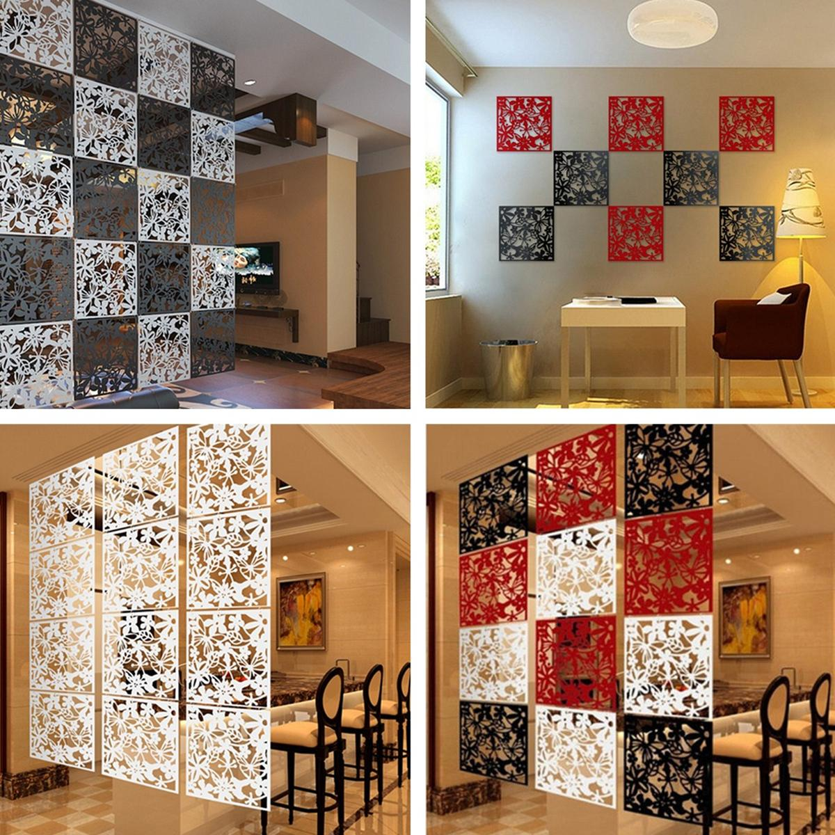 Chinese Paper Cutting Art Style Hanging Screen Room Divider