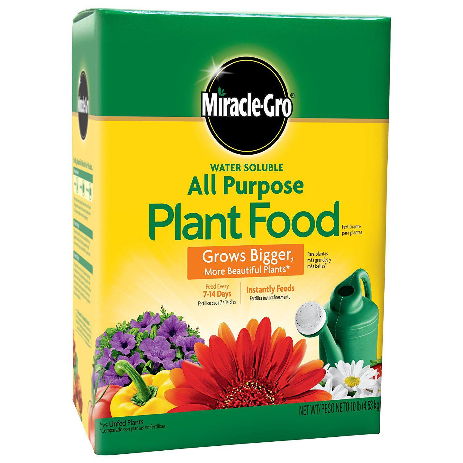 10Lbs Miracle-Gro All Purpose Plant Food