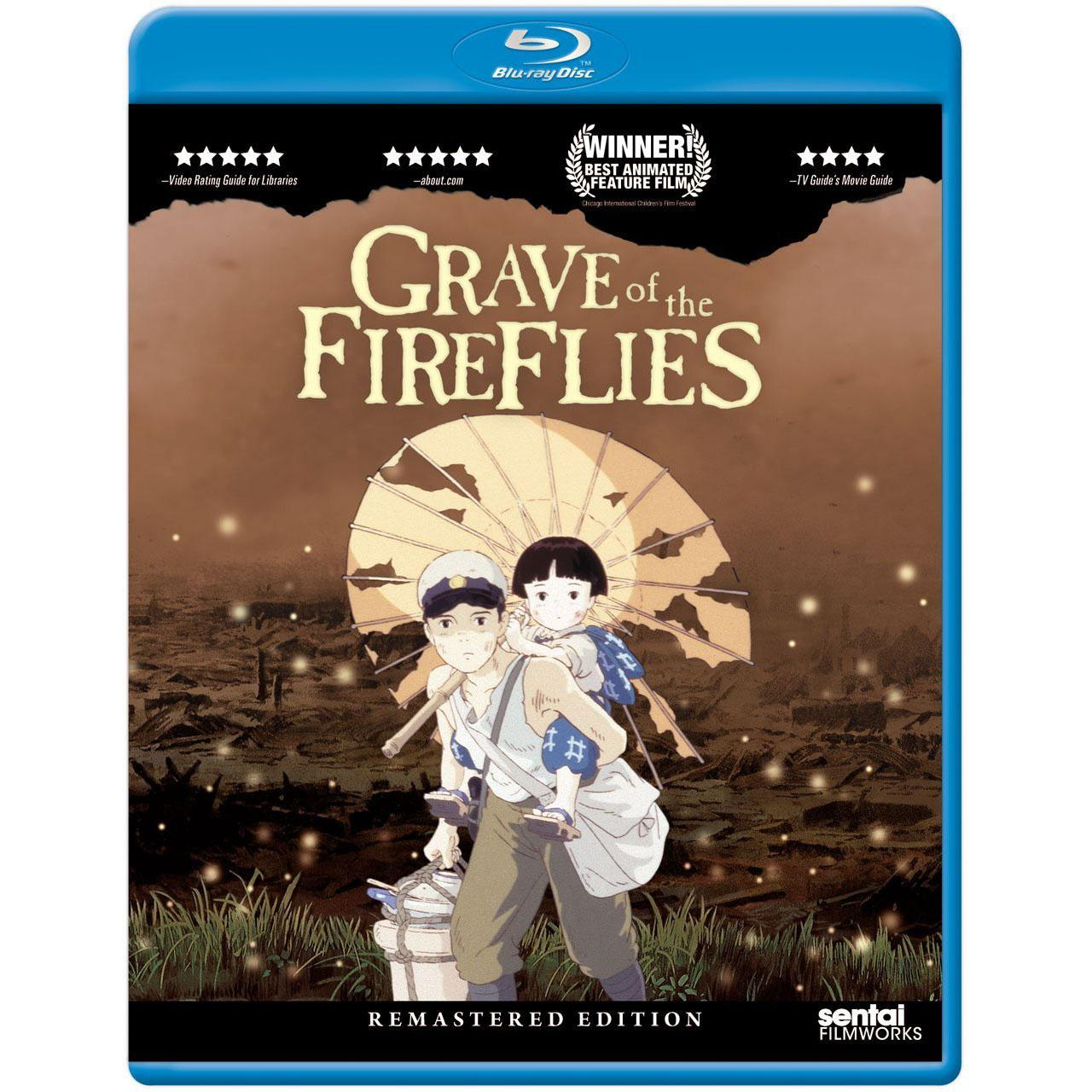 Grave of the Fireflies Remastered Edition Blu-ray for $10.99