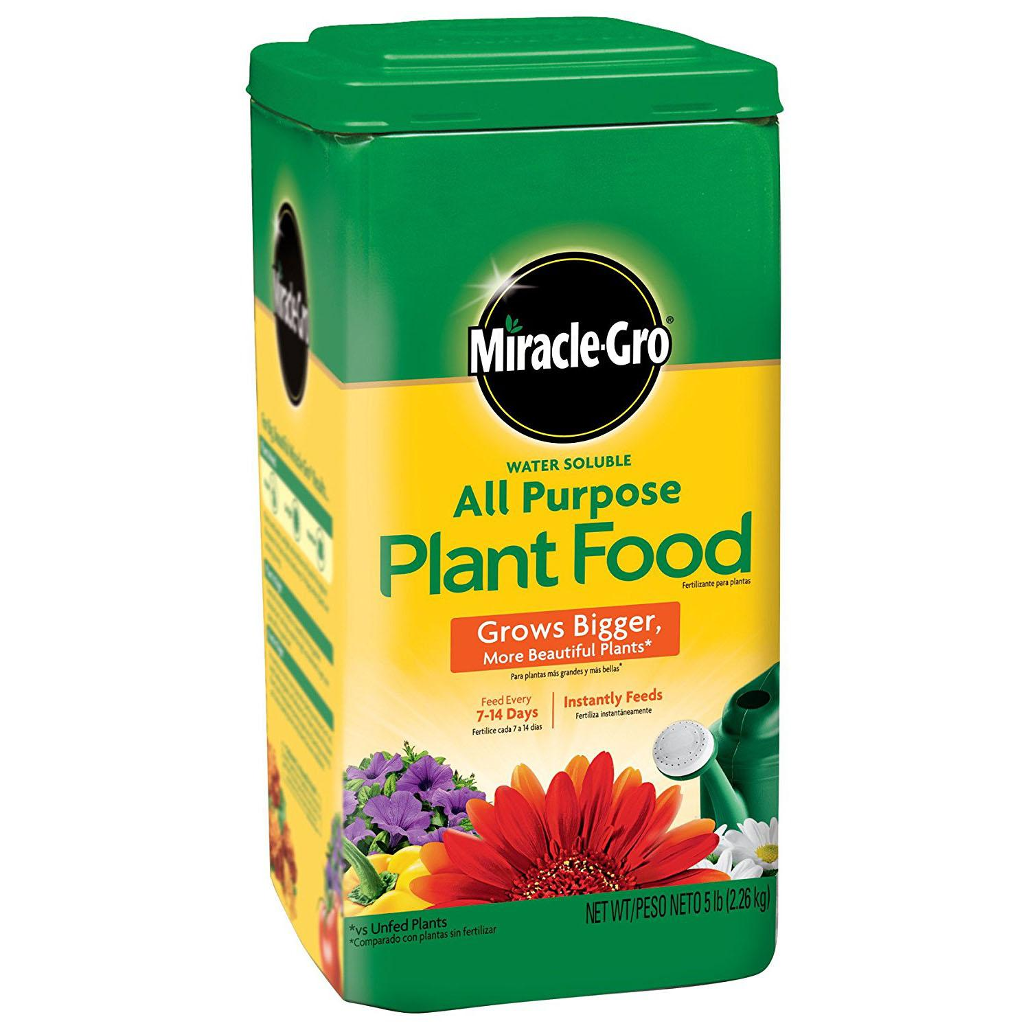 5lbs Miracle Gro All Purpose Plant Food