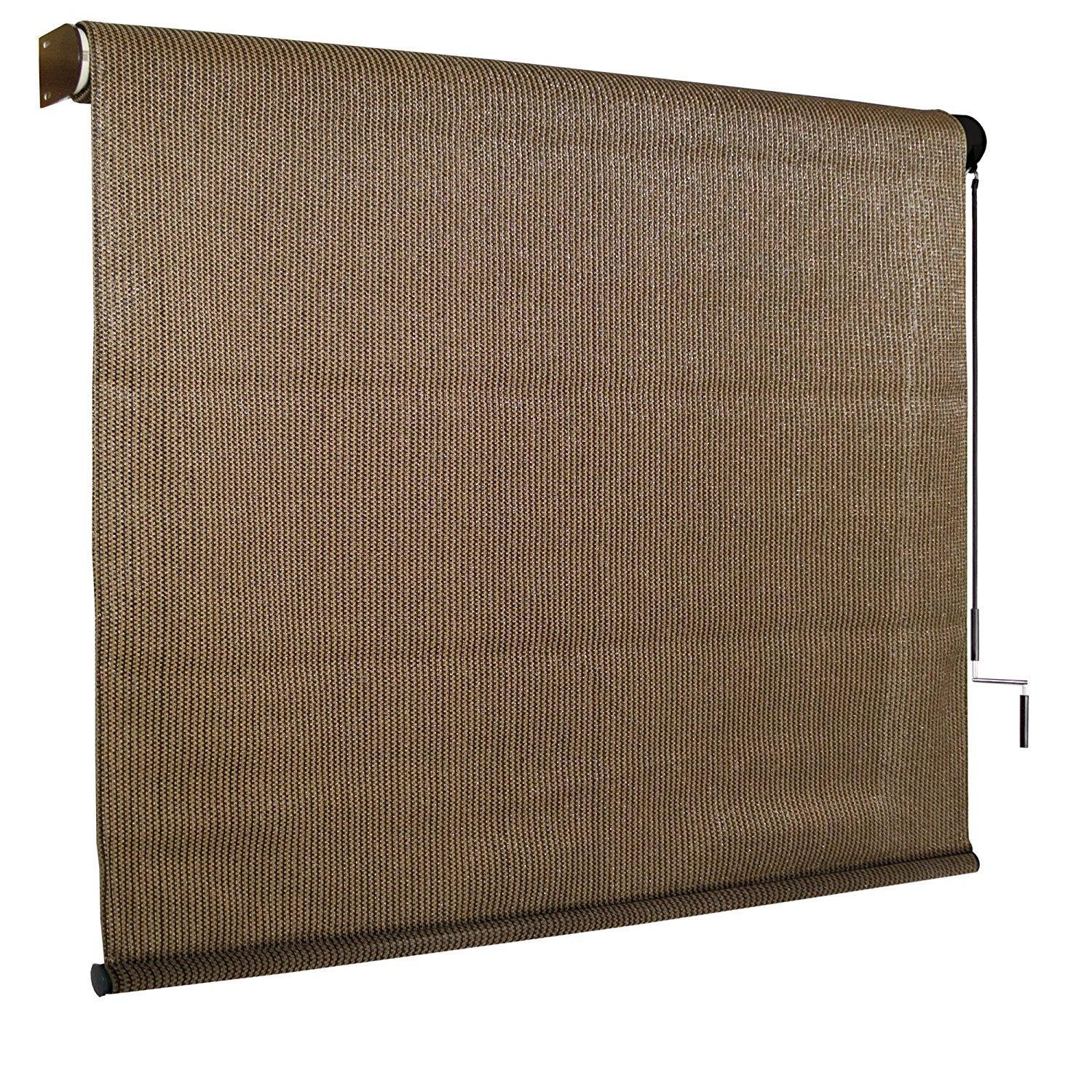 Coolaroo 8ft x 6ft Outdoor Cordless Roller Shade