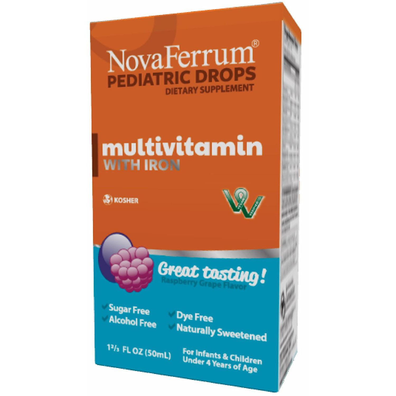 NovaFerrum Multivitamin Infants and Toddlers