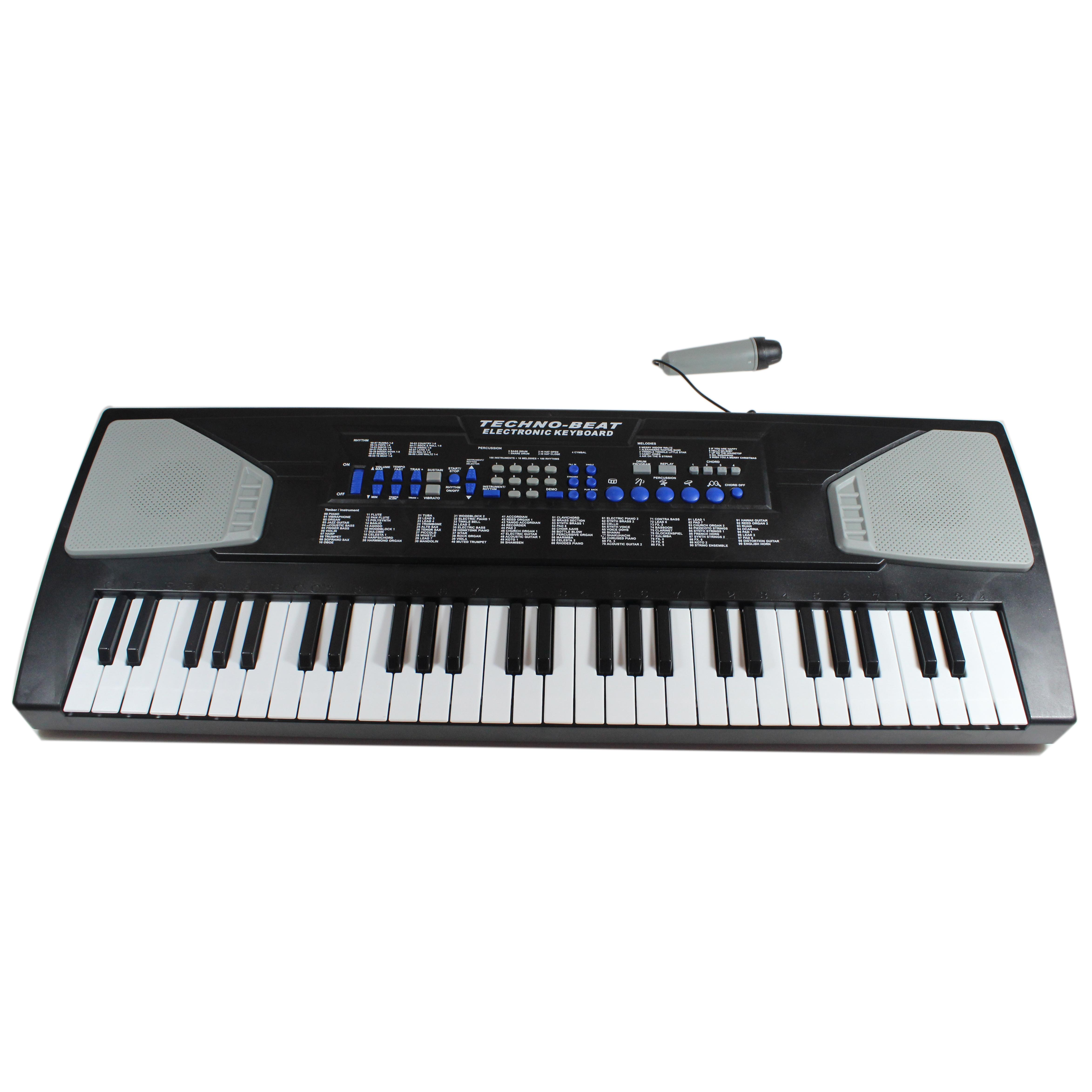 Out) 54-Key Soundz Deluxe Concert Kids Electric Keyboard