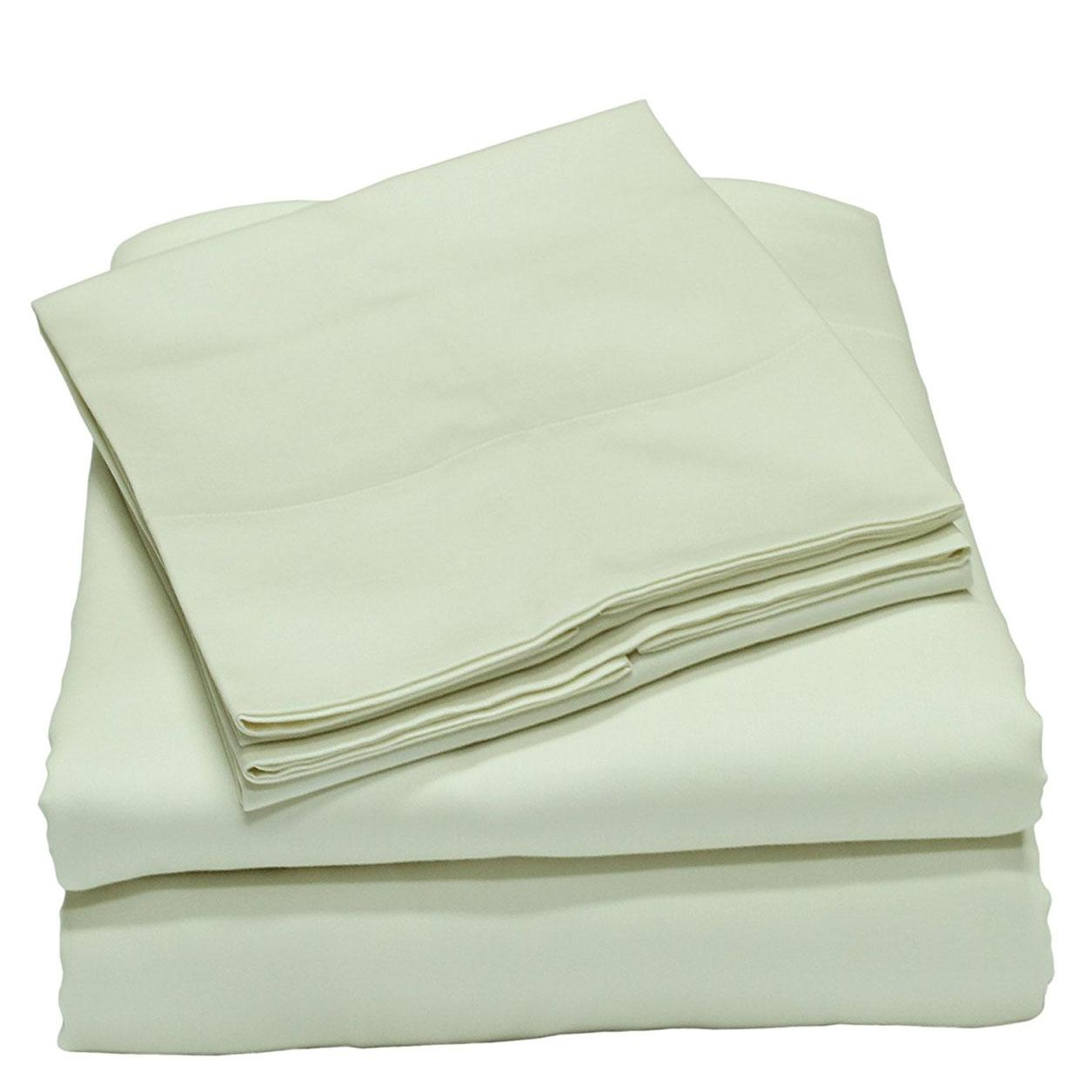 300 Thread Count Full Cotton Bed Sheet Set