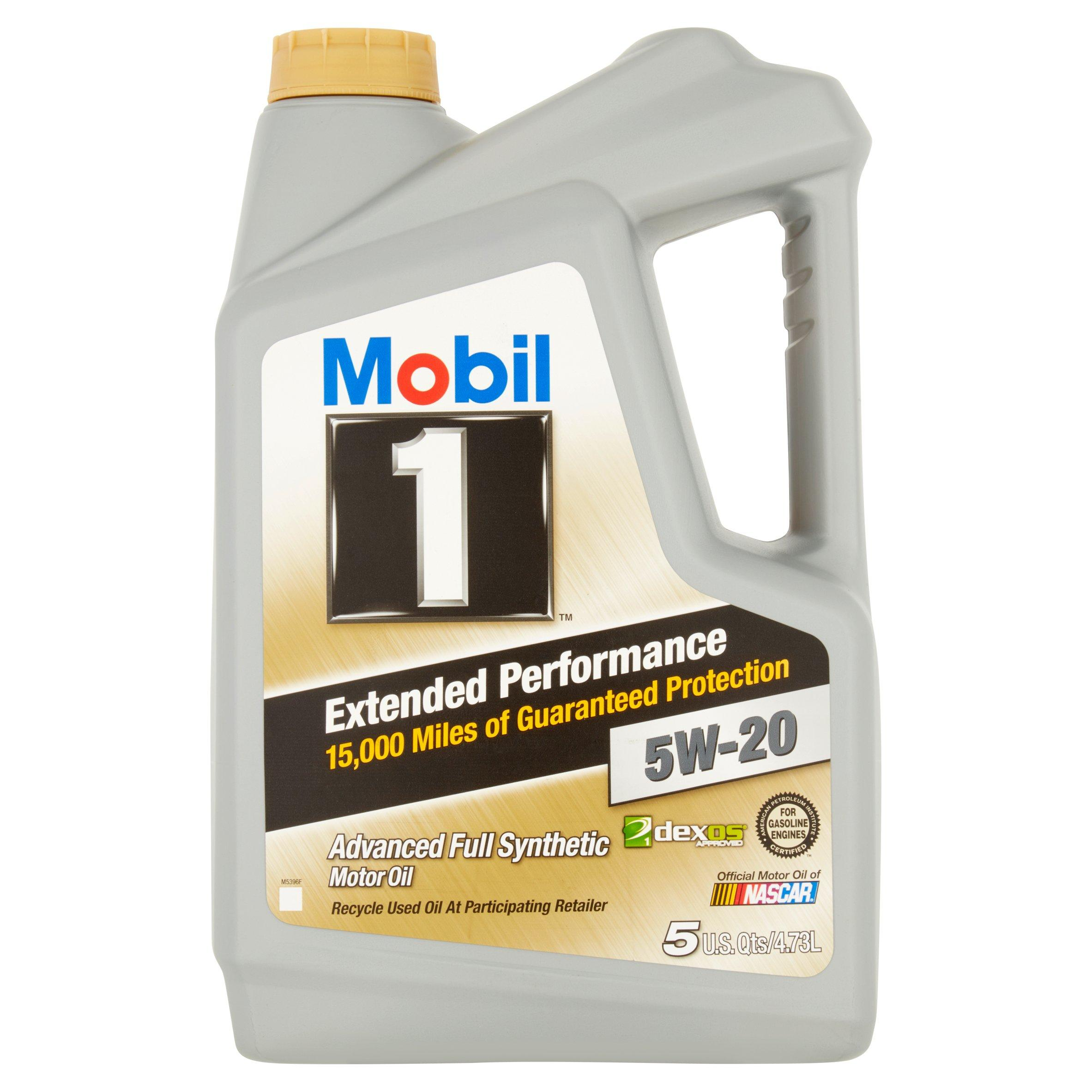5-Quarts Mobil 1 Full Synthetic Motor Oil with Oil Filter