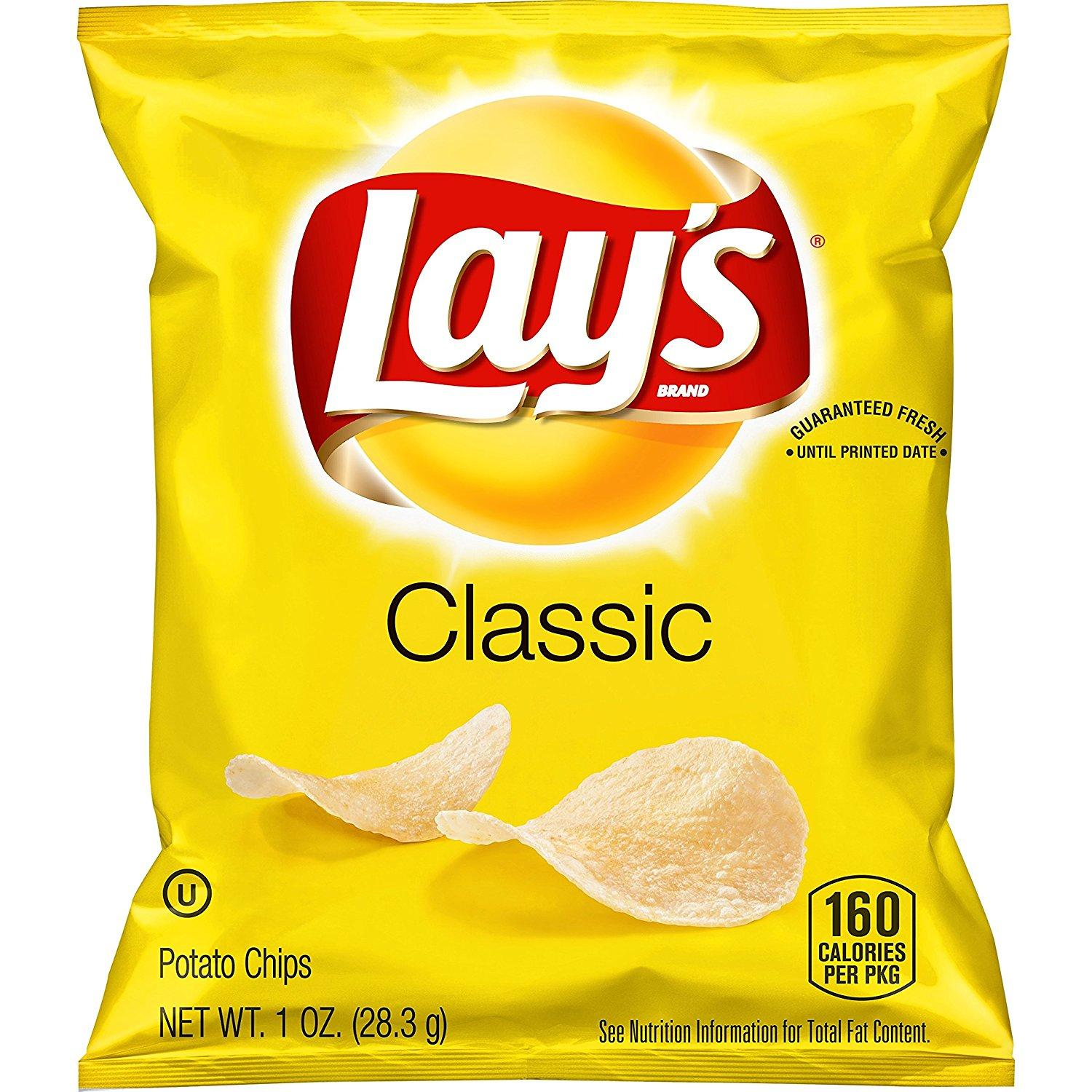 40 Lays Classic Potato Chips