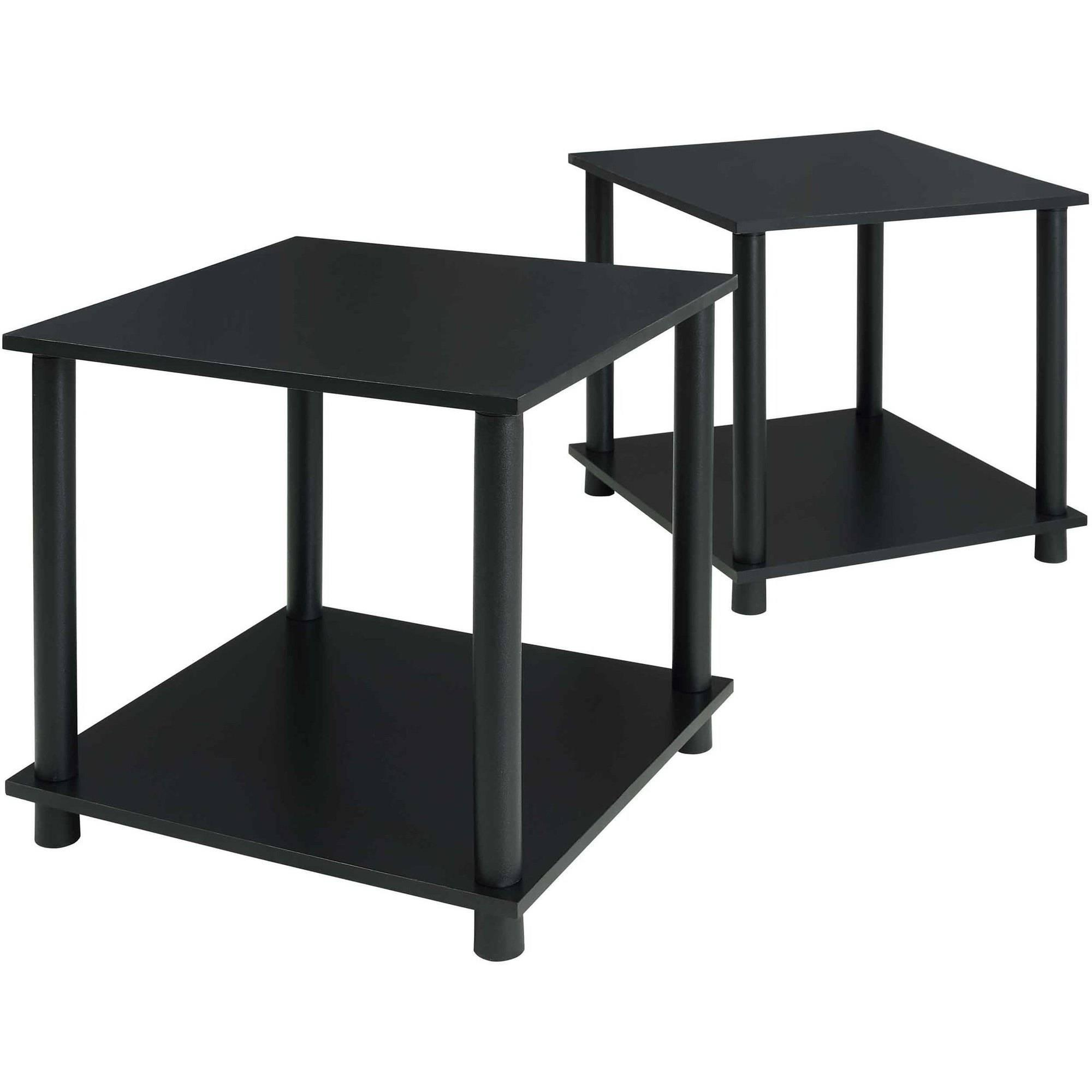 2x Mainstays No Tools End Tables