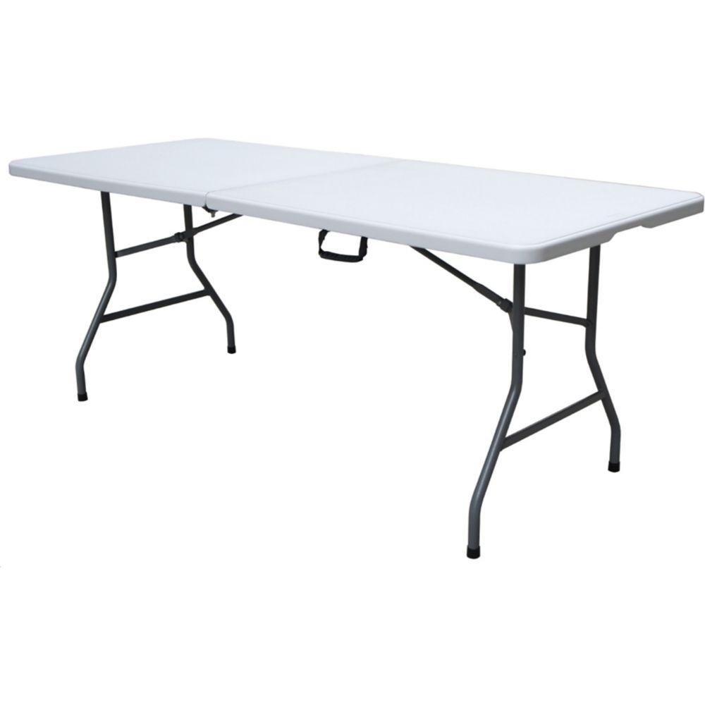 PDG 6ft Folding Table with Carry Handle