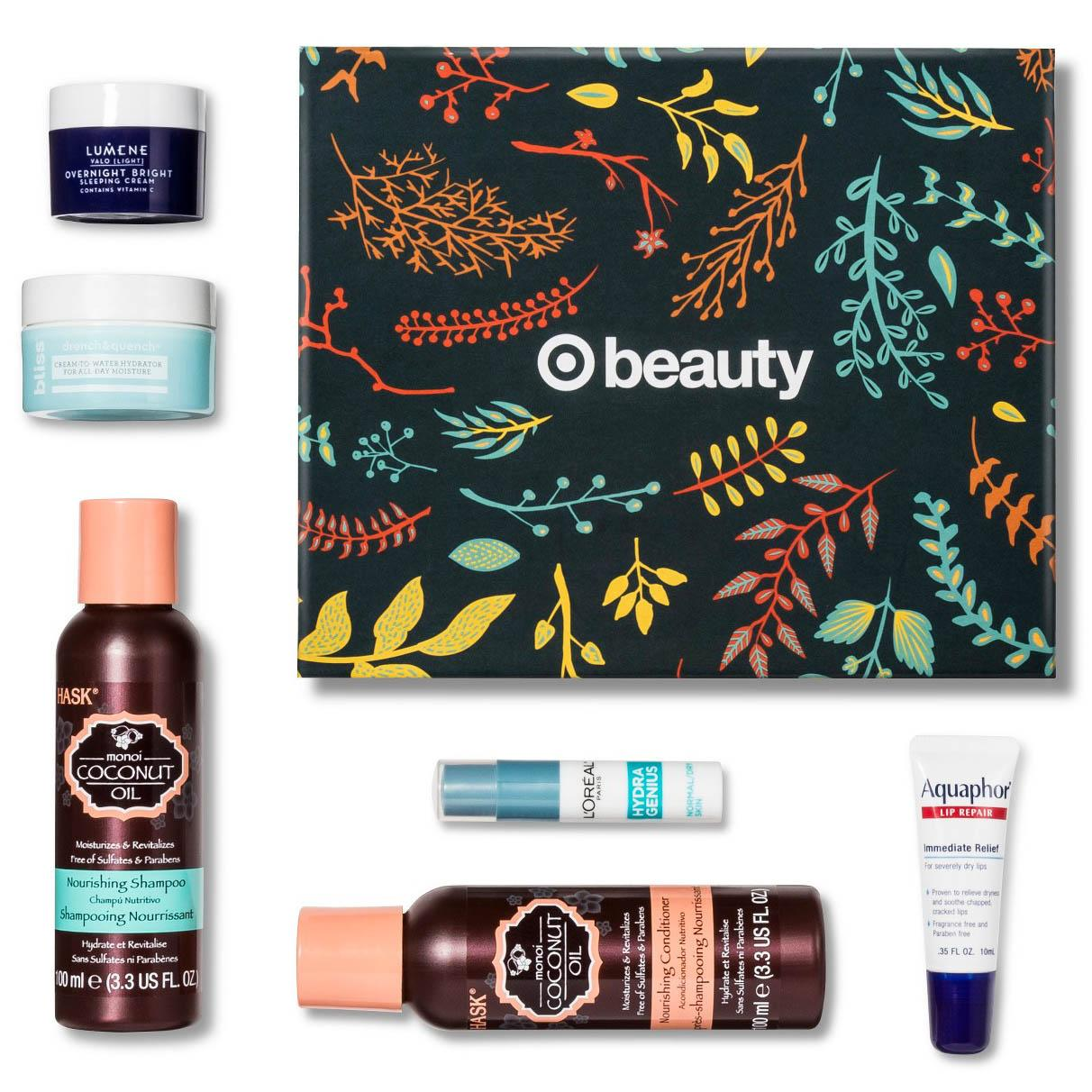 6-Piece Target Holiday Sample Beauty Box