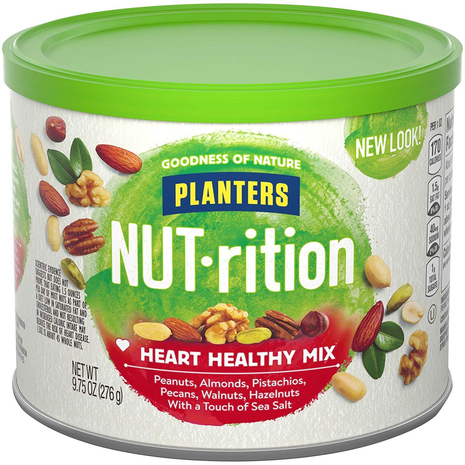 3x Planters Heart Healthy Mixed Nuts