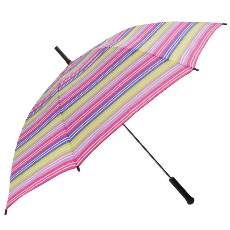3x Totes Easy Open Automatic Large Stick Umbrellas
