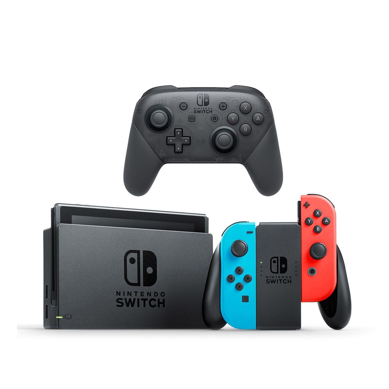 Nintendo Switch Console with Pro Controller