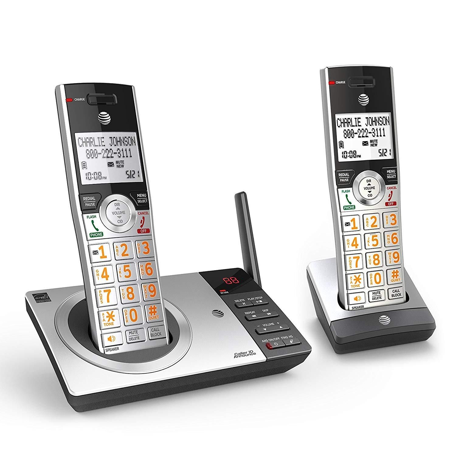 ATT CL82207 Dect 6 Cordless Phone with Answering System