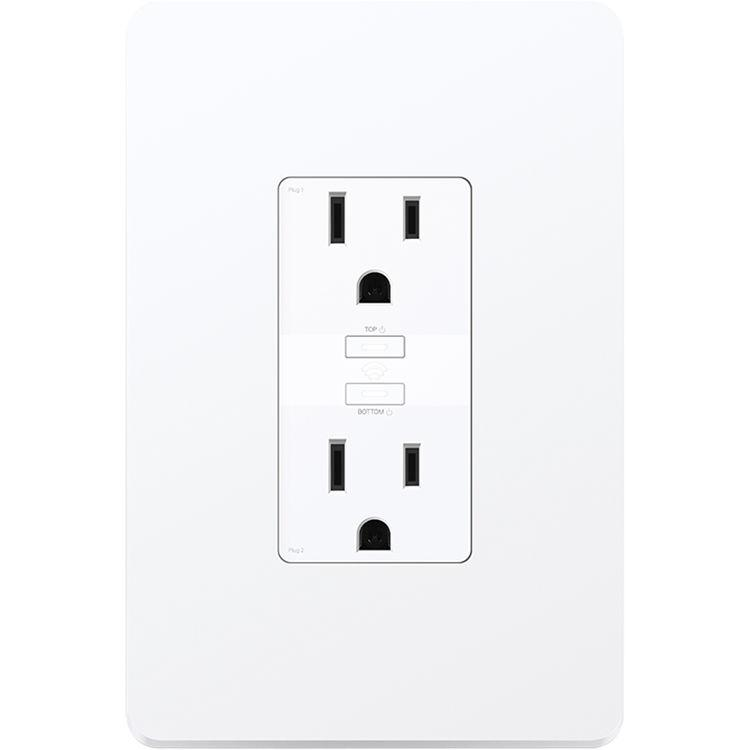 TP-Link KP200 Kasa In-Wall Smart WiFi Power Outlet with Switch